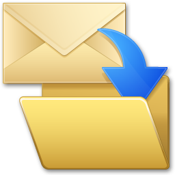 File Outlook email messages to the right folder with one