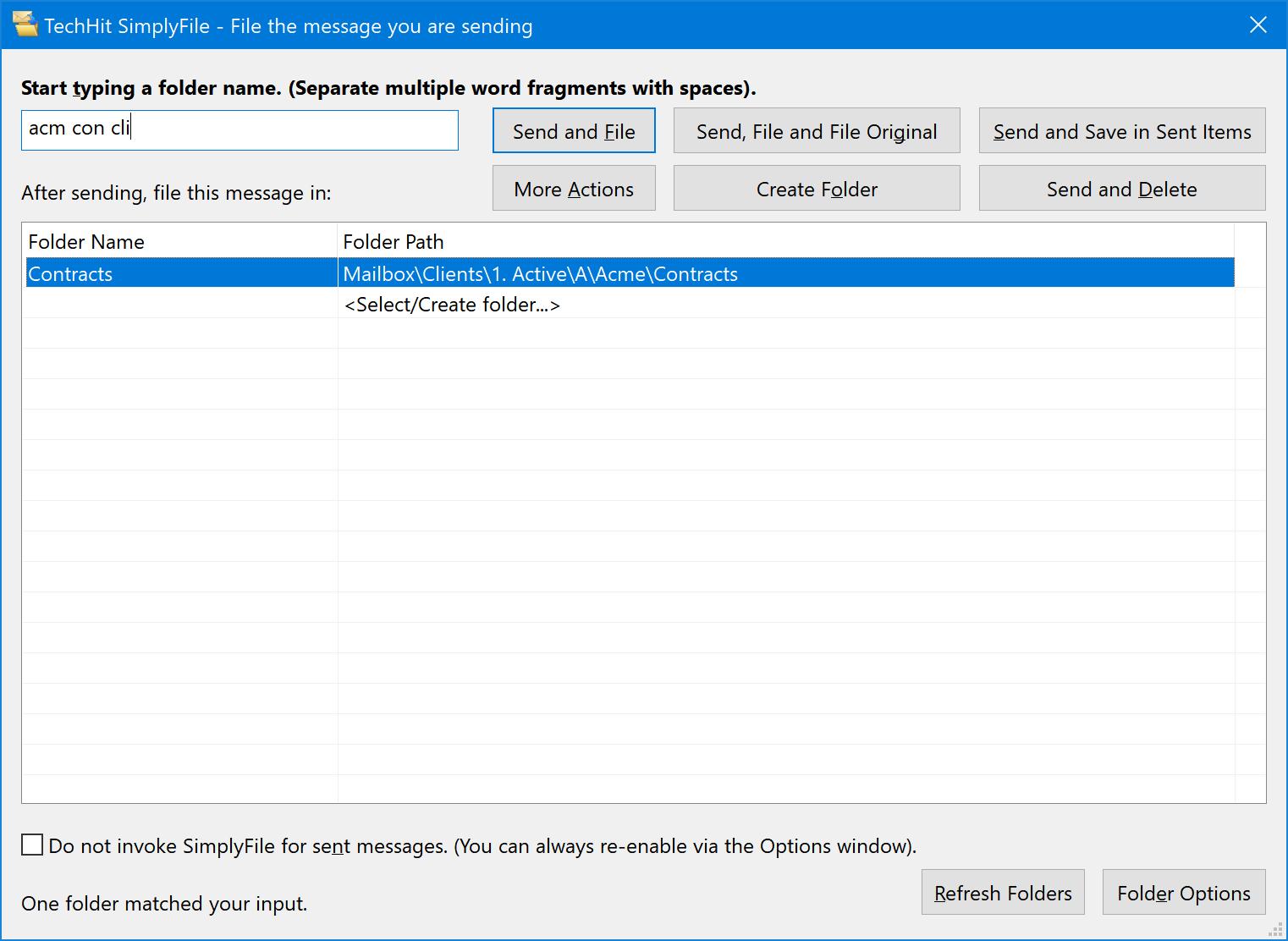 SimplyFile screenshot