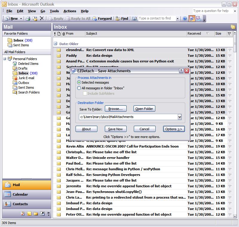 EZDetach full screenshot
